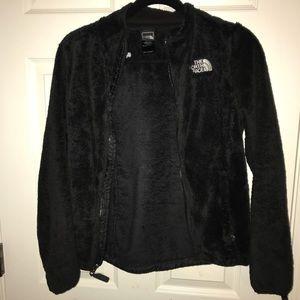 North Face Plush Black jacket (XS)